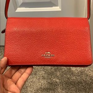 Coach NY cross body & changeable hand clutch